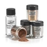 Mehron Metallic Powder & Mixing Liquid