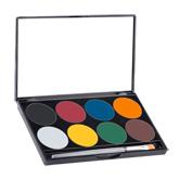 Mehron Paradise Makeup AQ™ -paletit, 8 sävyä
