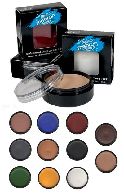 Mehron Mask Cover lisäosien, kaljujen ja efektien maskeeraukseen