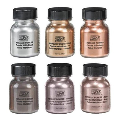 Mehron Metallic Powder Hohdejauheet