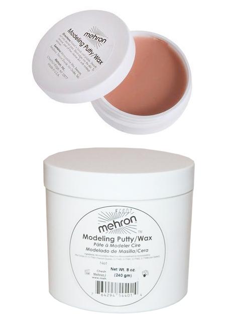 Mehron Modeling Putty/Wax – Arpivaha/nenäkitti