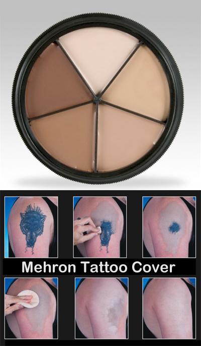 Mehron ProColoring Tattoo Cover Peitevoidepaletti