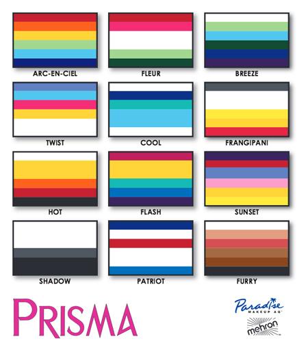Mehron Paradise Makeup AQ Prisma Kasvo- ja vartalovärit