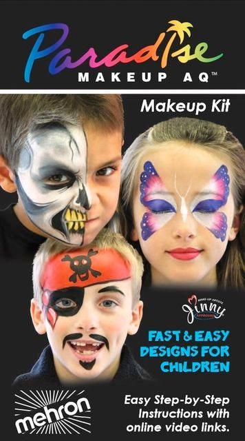 Maskeeraussetti Paradise Makeup Kit