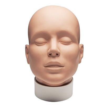 Mehron Practice Head - meikkipää maskeerauksen ja meikin harjoitteluun ja kokeiluun